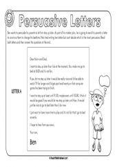 43 Best Persuasive Letter Images Handwriting Ideas Persuasive