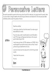 Persuasive essays for primary students