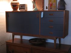 Image result for upcycling teak furniture Danish Furniture, Teak Furniture, Danish Style, Sideboard, Upcycle, Restoration, Cabinet, Storage, Room