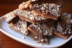 Buttery English toffee  1/2 lb. by TwistedSisterTreats on Etsy, $12.00