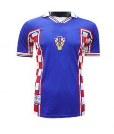 606dc99a15d 1998 Croatia World Cup Away Jersey 1998 Croatia World Cup Away Jersey