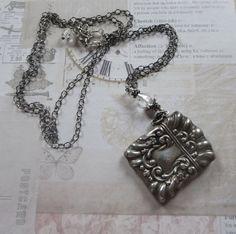 Antique Victorian 925/1000 Sterling Match Safe by MiladyLinden