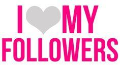 Yassssssssss! I Love My Pinterest Followers!