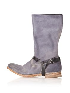 n.d.c made by hand Women's Vaquero Mid Mixed Material Boot. Harness is removable, fortunately.