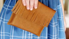 Tips for sewing with leather, vinyl and suede | A Beautiful Mess