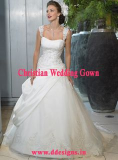 http://ddesigns.in/products/christian-wedding-gown.html  #Christian Wedding #Gown in delhi