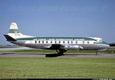 """St Colmcille"" was delivered new ro Aer Lingus in March 1959 and served them until sale in March 1970 as D-ADAM. It is taxying to Runway 06 ... Aer Lingus - Irish International Airlines Vickers 808 Viscount Manchester - International (Ringway) (MAN / EGCC) UK - England, June 2, 1963 Plane Design, International Airlines, Viscount, Airplane Travel, British Airways, Air France, Aircraft Pictures, Concorde, Taxi"