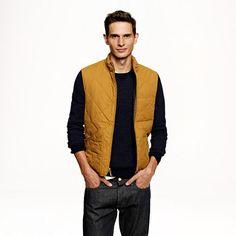 J.Crew - Broadmoor quilted vest