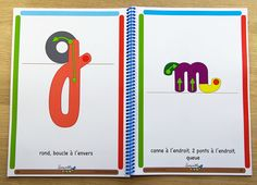 J'apprends l'écriture cursive Plus Alphabet Cursif, Teaching French, School Life, Learn French, Learning Resources, Anchor Charts, Homeschool, Activities, Writing