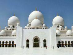 Sjeik Zayed-moskee Abu Dhabi, Verenigde Arabische Emiraten