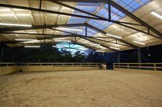Image detail for -... Arenas – Lighting covered-riding-arena-2 – White Horse Barns