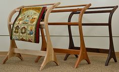 This is a Beautiful Quilt Rack!