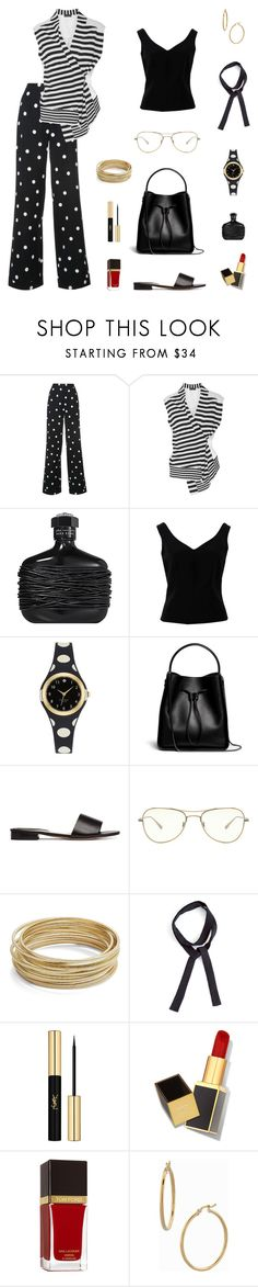 """""""Born To Glow!"""" by sproetje ❤ liked on Polyvore featuring Monse, Haider Ackermann, John Varvatos, ADAM, Kate Spade, 3.1 Phillip Lim, Oliver Peoples, Design Lab, David Michael and Yves Saint Laurent"""