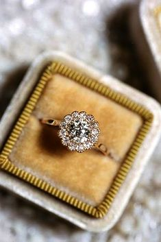Vintage Engagement Rings With Stunning Details See more: #weddings