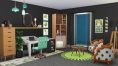 Tiny Living has the best stuff 😍 : Tiny Living Rooms, Living Room Interior, Sims 4 House Plans, Sims 4 Bedroom, Sims 4 House Design, Sims Building, Casas The Sims 4, Sims 4 Characters, Sims Four