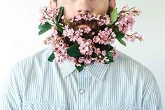 Guys Are Decking Their Beards Out With Flowers And It'll Probably Give You A Pinterestgasm