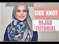 Side Knot Hijab Tutorial by Omaya Zein | Hijab Fashion Inspiration