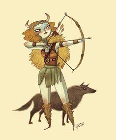 https://www.behance.net/gallery/16527517/Character-design-Archer