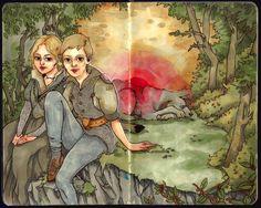 Spera Sketchbook by ~iphigen