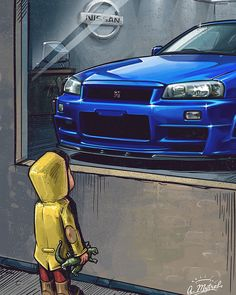 the Nissan Skyline GT-R 34 for the first time back in Nissan Gtr R34, Nissan Skyline Gt R, Skyline Gtr R34, Nissan Gtr Black, Gtr R35, Nissan Gtr Wallpapers, Ford Transit Custom, Japan Cars, Jdm Cars