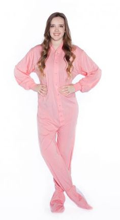 2 piece adult fottie pajamas