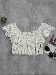 Resultado de imagen para top crochet