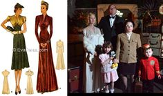 Photo by Disney photographers All Fashion, Womens Fashion, Tea Gown, Bridal And Formal, Mccalls Patterns, House Dress, Formal Wear, Day Dresses, Evening Gowns
