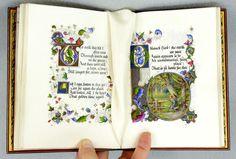 Pirages | Illuminated Manuscript - Modern . Sangorski, Illuminator. Wordsworth. Selected Poems. Ca. 1915