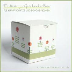 lovely little flower box - free template