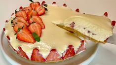 Úžasná nepečená torta s bielou čokoládou a fantastickým krémom. Recept sme spracovali podľa návodu z youtube.Potrebujeme:formu s priemerom 24 cmNa základ: - 250 g sušienok- 120 g rozpusteného masla- štipka soliKrém: - 300 ml mlieka- … Asmr, Quick Cake, Banana Pudding Recipes, Cheesecake Cupcakes, My Dessert, Melt In Your Mouth, Arabic Food, Desert Recipes, Flan