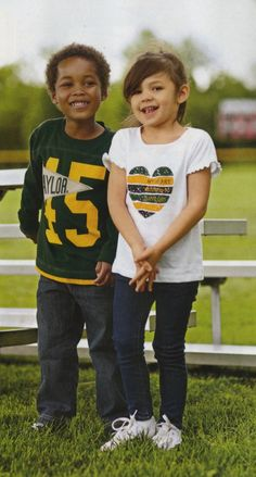 Real #FutureBears dress like it's game day every day. #SicEm