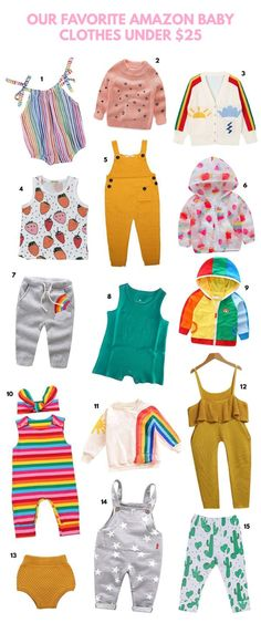 f6505cece21 Our Favorite Amazon Baby Clothes Under  25