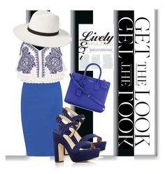 """""""♢GET THE LOOK: ROYALTY♢"""" by tamsy13 ❤ liked on Polyvore featuring WearAll, River Island, Janessa Leone, Paul Andrew, Yves Saint Laurent, GetTheLook and hats"""