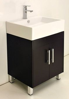 Bathroom Wall Storage Ideas Space Saving 49 Ideas For 2019 Bathroom Sink Storage, Small Bathroom Sinks, White Vanity Bathroom, Wood Vanity, Bathroom Furniture, Bathroom Interior, Metal Storage Cabinets, Washbasin Design, Cupboard Design