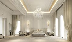 Residential projects - dubai - traditional - Spaces - Other Metro - IONS DESIGN- DUBAI-master bedroom design