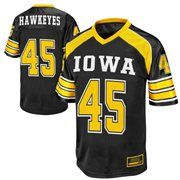 Iowa Hawkeyes  45 End Zone Football Jersey - Black Sports Jerseys 0bf4ecb12