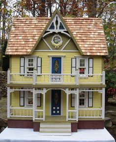 Image detail for -Duracraft Manchester Country House - Handcrafted Finished Dollhouses -
