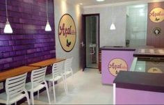 Shop Interior Design, Store Design, Ice Cream Roll, Cereal Cafe, Happy Cafe, Cafe Bistro, Retail Concepts, Store Interiors, Mocca