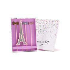 Bow Eiffel Signature Cake Toppers - Plan A Parisian Party Today - Paris312