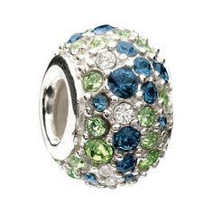 Green Chamilia Crystal bead