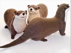 Raverly pattern- Otters just wanna have fun! :-)