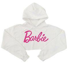 女性のスウェットシャツ原宿バービーピンク手紙パーカーセクシーなクロップトップ長袖パンクヒップホップパーカーヒップホップスウェットシャツ