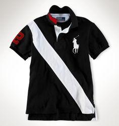 Ralph Lauren Polo Big Pony bande oblique custom fit