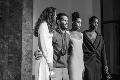 Backstage at the Jacquemus Fall 2018 show during Paris Fashion Week at Petit Palais in Paris, France on February 26th. Photo by Cleo Glover for W Magazine.