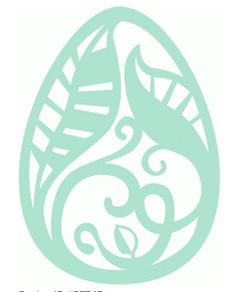 easter egg leaves by cali arroyo #57747