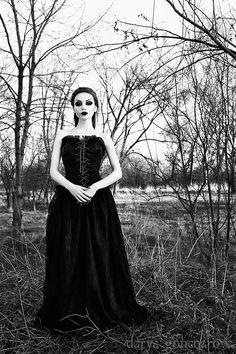 Model/ MUA/Photo: Darya Goncharova Collar: GoldenSteampunk Clothing Dress: Phazeclothing.com Welcome to Gothic and Amazing  www.gothicandamazing.com