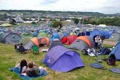 The ultimate guide for the best places to camp at Glastonbury - Bristol Live Camping Guide, Camping Spots, Glastonbury Camping, Best Places To Camp, Places To Go, Festival Camping, Do Not Fear, Far Away, Campsite