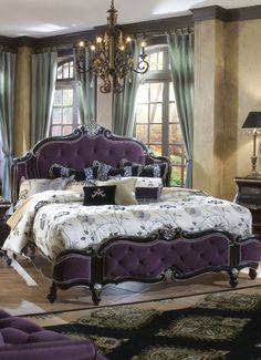 wow, that is a really purple headboard                                                                                                                                                                                 More