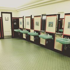 """Art Deco restroom #artdeco #daytons #bathroom #restroom"" Photo taken by @marybeth414 on Instagram, pinned via the InstaPin iOS App! http://www.instapinapp.com (05/24/2015)"