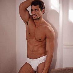 In Bed with David Gandy-After a teaser of his Marks & Spencer collaboration, British model David Gandy reunites with fashion photographer Mariano Vivanco for the cover of The Times magazine. Photographed in bed, a shirtless David wears a pair of underwear from his anticipated David Gandy for Autograph capsule collection. The lineup will be released... [Read More]